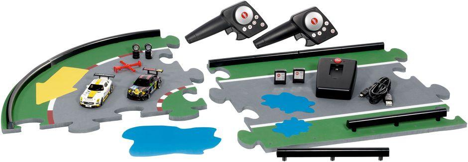 Siku Набор Siku Racing на радиоуправлении 6810 машинки siku автомобиль и прицеп с лодкой на воздушной подушке