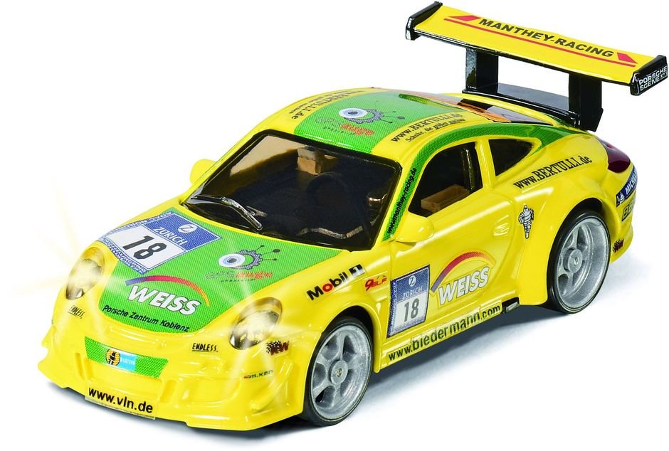 Siku Радиоуправляемая модель Porsche 911 GT3 RSR uni fortunetoys модель автомобиля porsche cayenne turbo