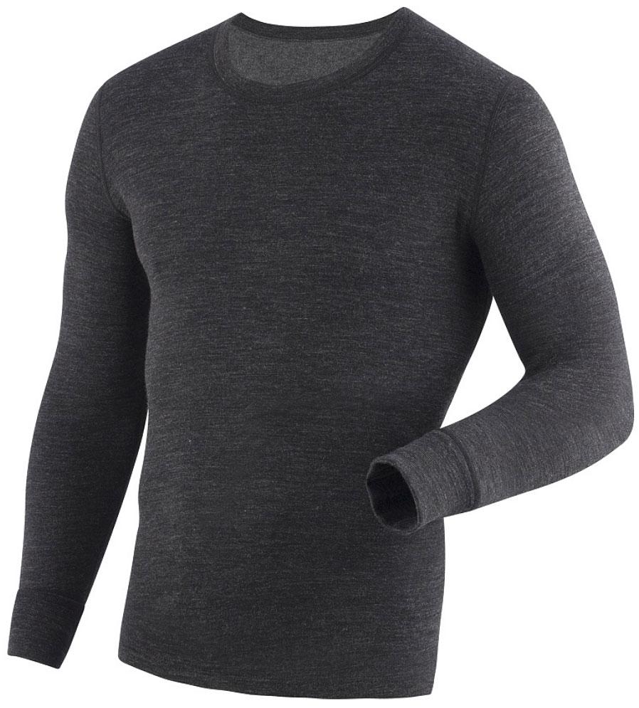 Фуфайка мужская Laplandic Heavy, цвет: темно-серый. L21-2010S/DGY. Размер 3XL (58)L21-2010S/DGYСочетание шерсти и акрила в составе фуфайки, а также специальное плетение обеспечивают эффективное сохранение тепла. Внутренний слой из полиэстера способствует эффективному выводу влаги. Начес на внутренней стороне полотна улучшает теплосберегающие качества за счет увеличенной воздушной прослойки.