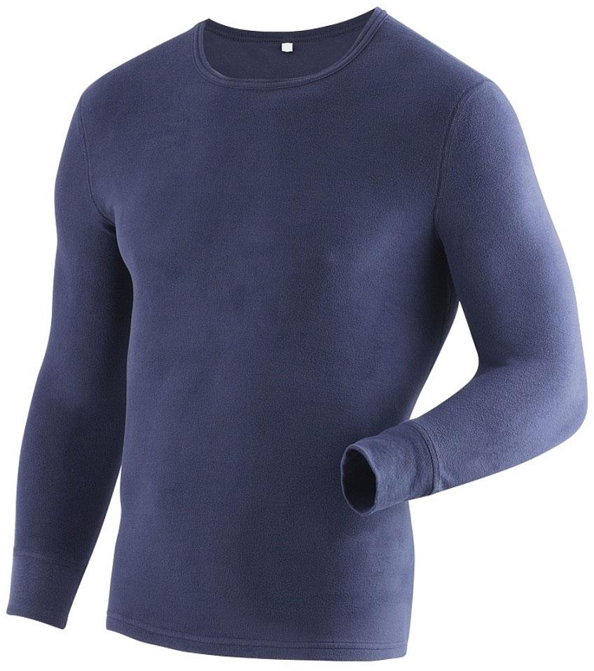 Фуфайка мужская Laplandic Heavy, цвет: синий. L21-1990S/NV. Размер XXL (56)L21-1990S/NVМужская фуфайка Laplandic Heavy изготовлена из микрофлиса. Внешняя сторона полотна обработана антипиллинговой отделкой. Микрофлис прекрасно сохраняет тепло благодаря воздушной прослойке. Легкая и теплая модель для повседневного использования.