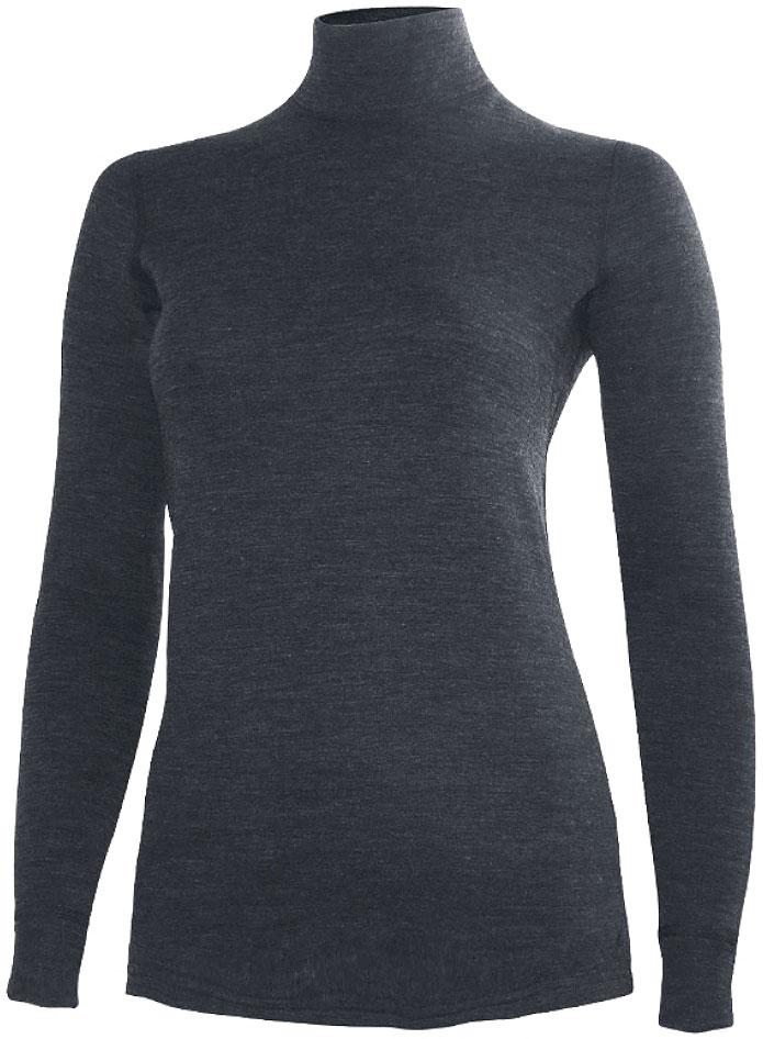 Фуфайка женская Laplandic Heavy, цвет: темно-серый. L21-2011N/DGY. Размер XS (42)L21-2011N/DGYСочетание шерсти и акрила в составе модели, а также специальное плетение обеспечивают эффективное сохранение тепла. Внутренний слой из полиэстера способствует эффективному выводу влаги. Начес на внутренней стороне полотна улучшает теплосберегающие качества за счет увеличенной воздушной прослойки.