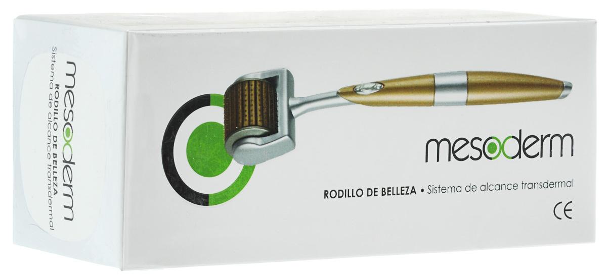 Mesoderm Мезороллер для лица и шеи, модель F001424203Mesoderm – это дисковый роллер, что исключает обламывание и потерю игл в процессеиспользования. Роллер изготовлен из высокопрочного пластика, имеет удобную ручку и эргономичныйдизайн. Иглы сделаны из качественной хирургической стали, что исключает развитие аллергическихреакций. Роллер имеет 192 иглы, что позволяет получить максимальный результат. Толщина игл всего 0,25 мм, а их длина – 0.5мм, благодаря чему процедура не вызываетболезненных ощущений.