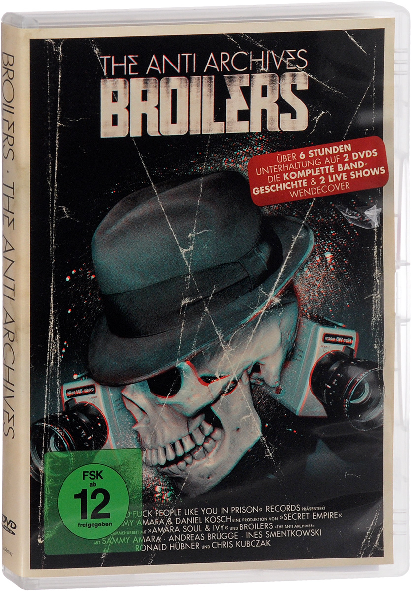 Broilers. The Anti Archives (2 DVD) gerry souter frida kahlo