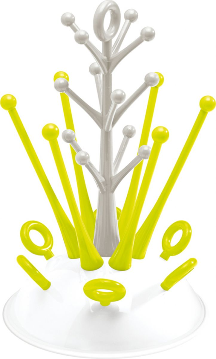 Beaba Держатель-сушилка для бутылочек Tree Draining Rack Neon laboratory draining rack 650x360mm 55position