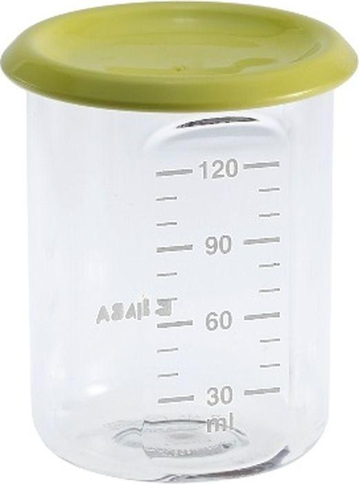 Beaba Контейнер для детского питания Baby Portion Tritan Neon 120 мл