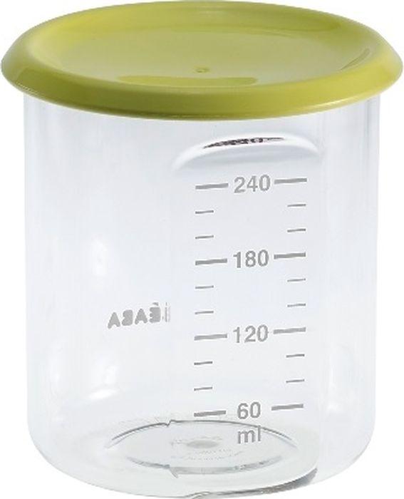 Beaba Контейнер для детского питания Maxi Portion Tritan Neon 240 мл