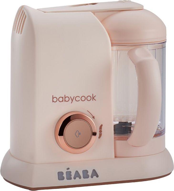 Beaba Блендер-пароварка Babycook Edit.Limit Pink купить филипс авент пароварка
