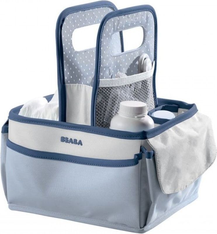 Beaba Сумка для мамы Nursery Basket Mineral