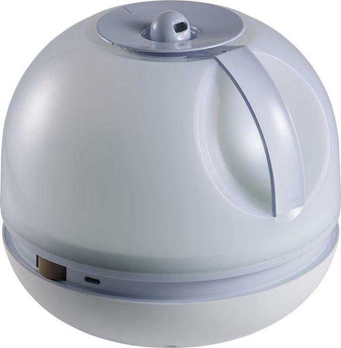 Beaba Увлажнитель воздуха ультразвуковой Silenso Humidifier Silenso Mineral920313Увлажнитель для детской комнаты SILENSOЗимой воздух в наших квартирах становится сухим, что способствует иссушению слизистой, которая в свою очередь хуже защищает от вирусов и микробов.В результате ребенок хуже спит, быстро устает, часто болеет, у него снижается иммунитет. При этом увеличивается вероятность появления аллергических реакций, поскольку в сухом воздухе микроскопические пылинки свободно попадают в дыхательные пути, вызывая их раздражение.Для детских комнат педиатры рекомендуют использовать увлажнитель воздуха.Бесшумный, легкий в использовании и очистке увлажнитель SILENSO от компании Beaba поможет поддержать в комнате ребенка идеальный уровень влажности, обеспечив ему настоящий комфорт при дыхании. Увлажнитель также позволит сократит риск возникновения кашля, конъюнктивитов или бронхита.SILENSO снабжен большим резервуаром воды – 2,5 л, его автономная работа составляет приблизительно 20 часов.Кроме того расход пара возможно регулировать вручную, как и направление его распределения в комнате (вращение на 360° во всей комнате).Увлажнитель снабжен системой автоматического выключения при низком уровне воды.Техническая информация:Автономная работа в течение 20 часов (в зависимости от расхода пара).Большой резервуар 2,5 л.Система холодного пара (ультразвуковая).Регулируемое (ручное) направление пара: вращение на 360; во всей комнате.Регулируемый расход пара.Автоматическое выключение при низком уровне воды.Бесшумный (35 Дб), не мешает ребенку спать.Легкость использования, наполнения и очищения.Идеально подходит для спален площадью 8;15 м2.Потребление энергии 25 ватт.