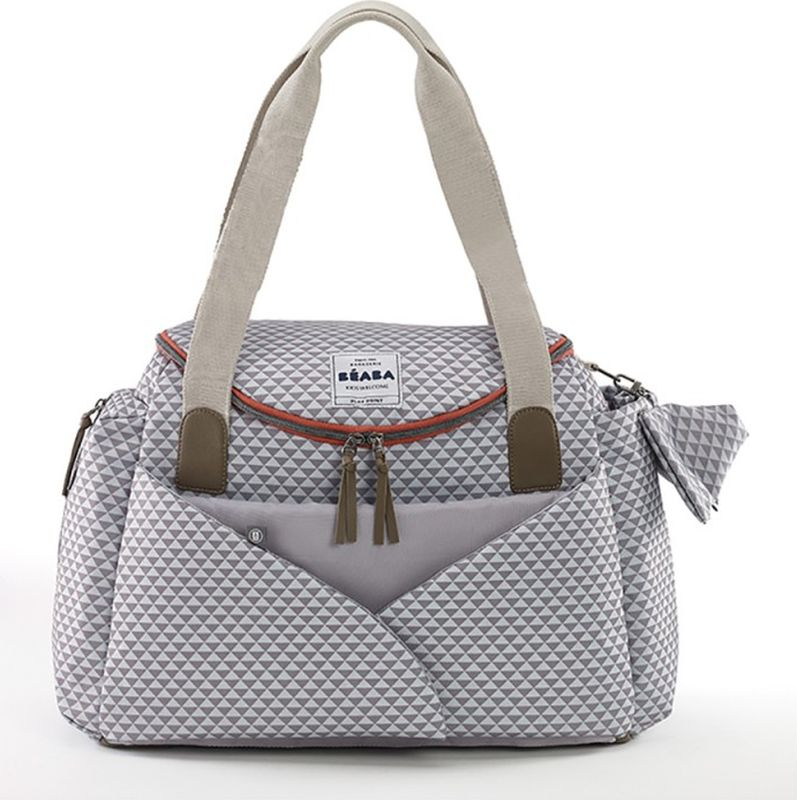 Beaba Сумка для мамы Sydney Changing Bag Grey -  Сумки для мам