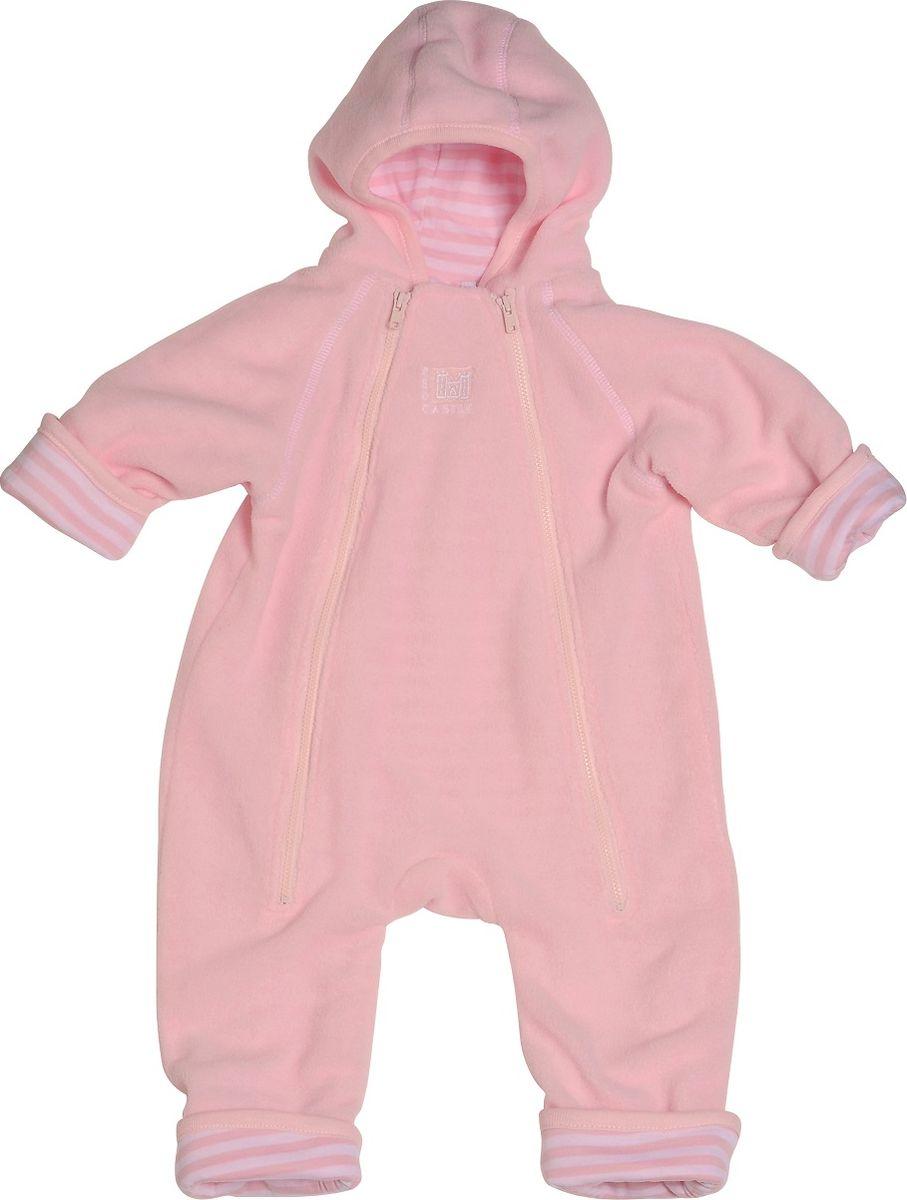 Комбинезон детский Red Castle Zipup S2, цвет: розовый. 080634. Размер универсальный080634