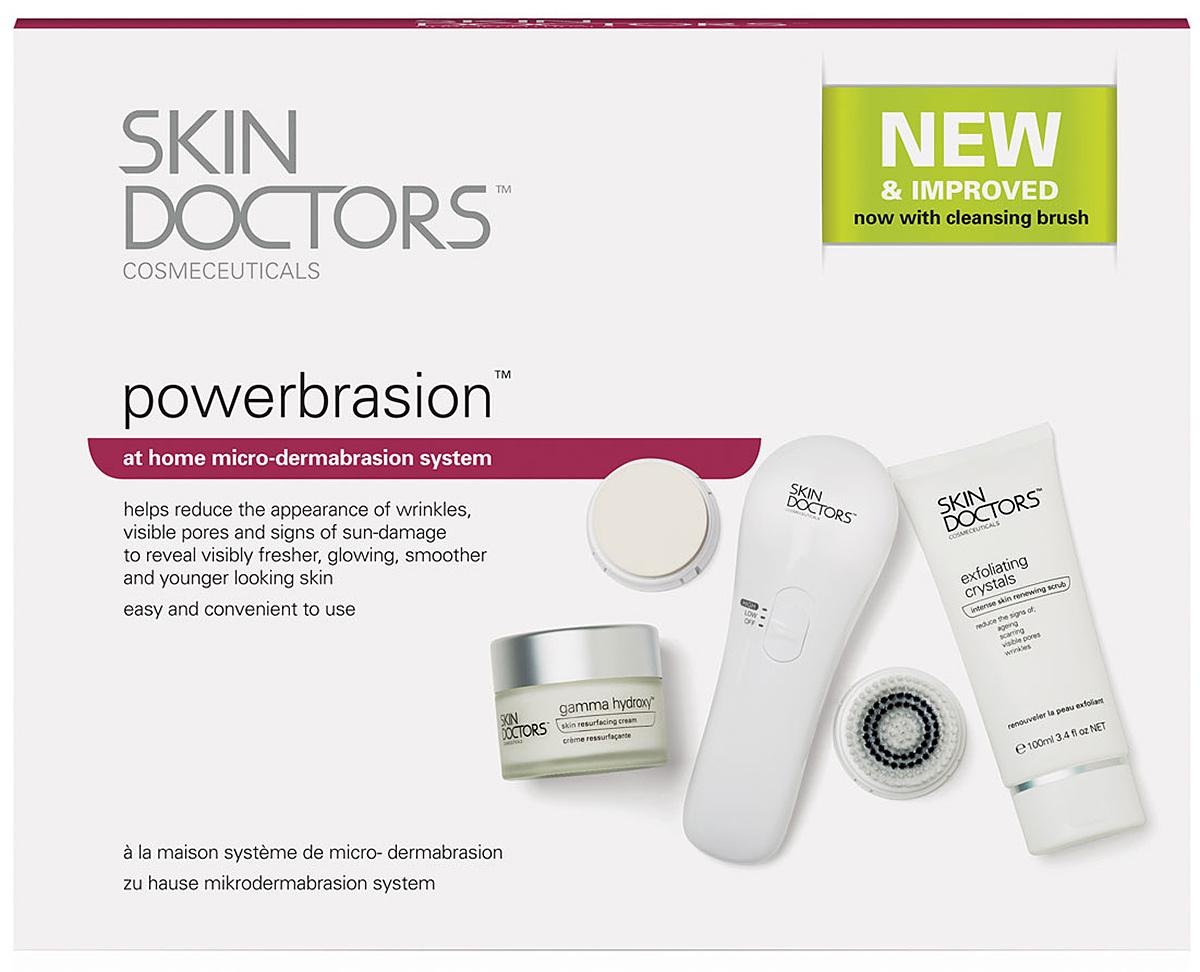 """Skin Doctors Полная система для микродермабразии в домашних условиях """"PowerBrasion"""""""