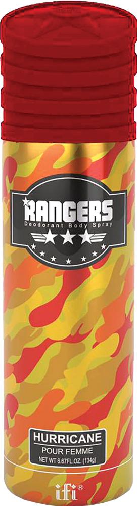 Rangers Дезодорант Hurricane W Deo Spr, 200 мл214093Настоящий сверкающий ураган соблазна: солнечные блики жасмина и розы, мягкая обволакивающая магия кашемира и доминирующая амбра с провокационной ванилью.