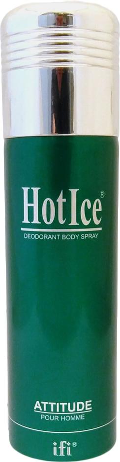 Hot Ice Дезодорант Attitude M Deo Spr, 200 мл кроссовки m attitude w