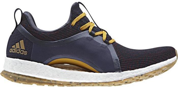 Кроссовки женские Adidas Pureboost X Atr, цвет: темно-синий. BY2690. Размер 6 (38)BY2690Кроссовки для бега Pureboost X Atr от adidas обеспечивают комфорт на протяжении всей тренировки за счет оптимальной поддержки стопы. Верх модели выполнен из крупной текстильной сетки для максимальной вентиляции ног. Литые вставки в средней части стопы созданы специально для дополнительной поддержки и устойчивости. Гибкая арка адаптируется к силуэту стопы и обеспечивает поддерживающую посадку во время движения. Уникальная конструкция резиновой подошвы STRETCHWEB заряжает дополнительной энергией во время бега. Промежуточная подошва Boost возвращает энергию каждого шага. Резиновая подошва с решетчатой подметкой, которая адаптируется к вашему индивидуальному способу приземления.