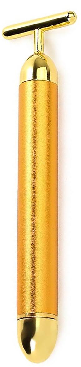 Вибро-массажер Beauty Bar WelssWS 7035Золото – для вашей кожи! Об удивительном влиянии золота на состояние кожи известно давно – ионы золота активируют работу клеток ткани,способствуют регенерации коллагена и накоплению гиалуроновой кислоты. Поэтому уникальный массажер «Beauty Bar» WELSS WS 7035 имеетнаконечник, покрытый чистейшим золотом – и обеспечивает максимальный уход за лицом.Благодаря частоте работы массажера - 6 000 микровибраций в минуту, мельчайшие частицы золота глубоко проникают в кожу и благотворновоздействуют на нее.Ежедневный уход. Используя вибро-массажер, Вы повышаете эффективность косметических средств, которые проникают в глубокие слоиэпидермиса и обеспечивают полноценный уход, питание и увлажнение кожи.Эффект – удивительный: естественное увлажнение и тонизирование кожи, восстановление контура лица (упругие щеки, красивая форма шеи безвторого подбородка), никаких отеков и припухлостей. Ухоженный вид, свежая и гладкая кожа, сияющая молодостью и красотой – всего за 3минуты в день!