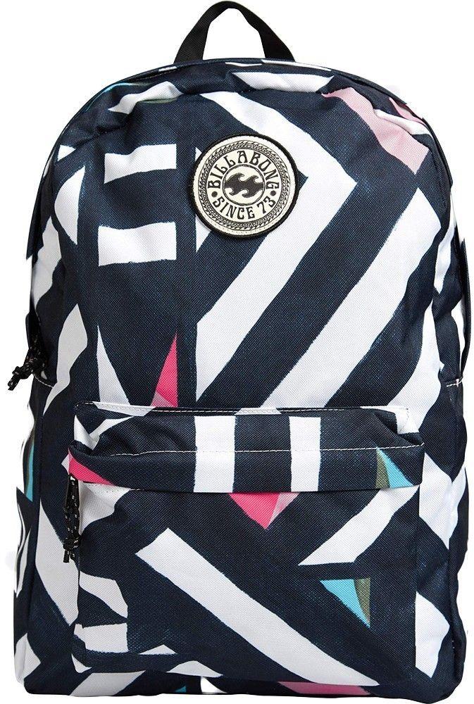 Рюкзак женский Billabong All Day Women, цвет: черный, розовый, голубой, 20 л туфли l day l day ld001awtfr07
