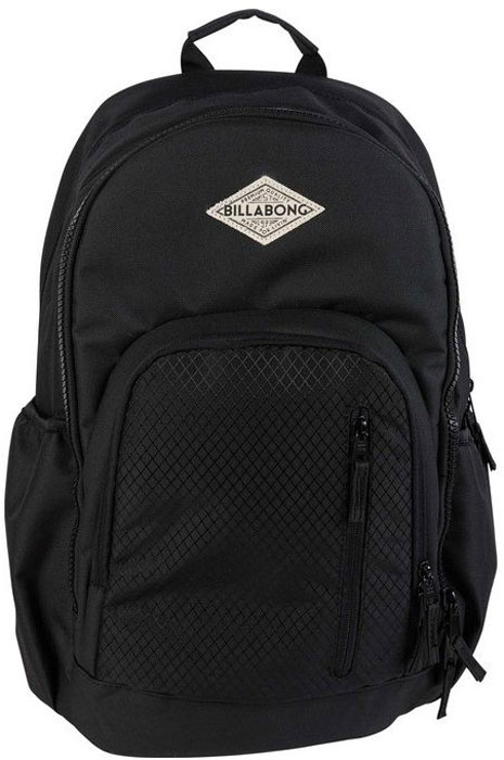 Рюкзак Billabong Roadie, цвет: черный, 28 л