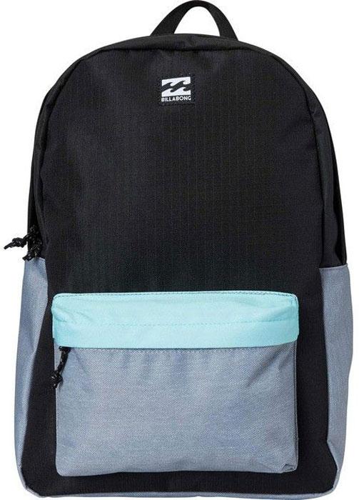 Рюкзак Billabong All Day Pack, цвет: черный, серый, светло-голубой, 20 л рюкзак городской billabong all day pack цвет черный серый