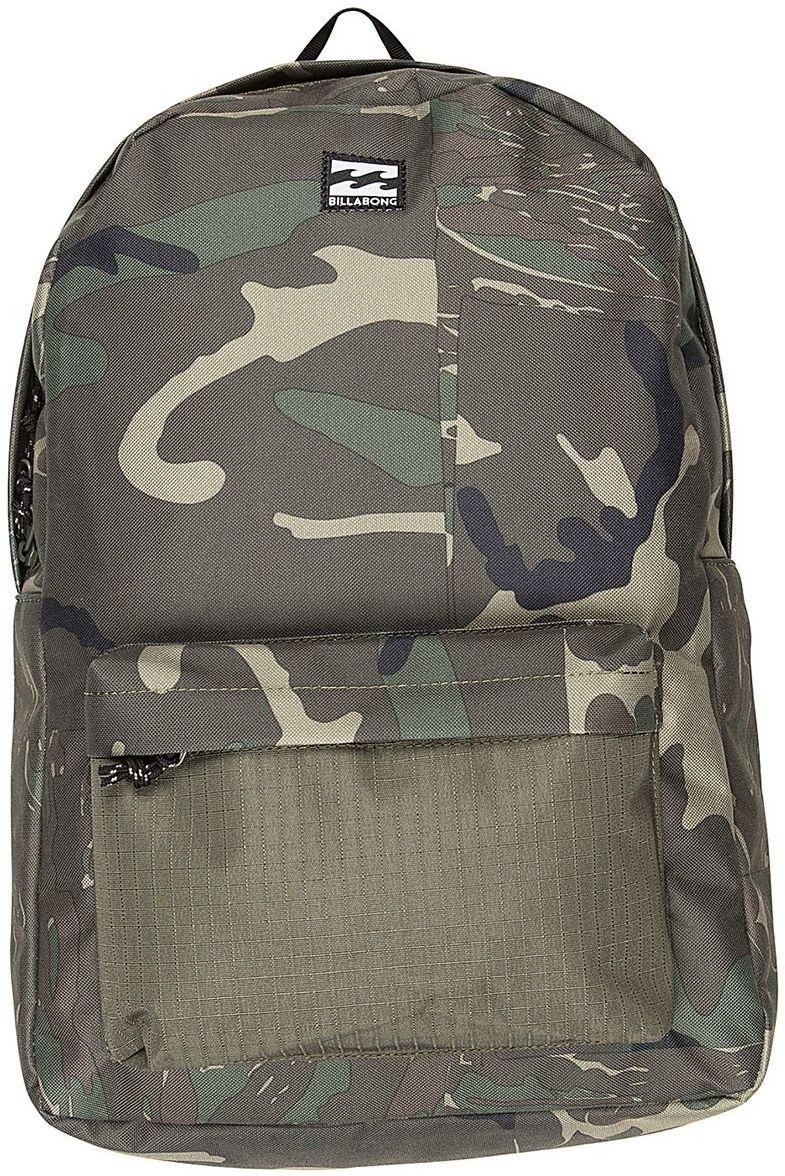 Рюкзак Billabong All Day Pack, цвет: зеленый, хаки, коричневый, 20 л рюкзак городской billabong all day pack цвет черный серый
