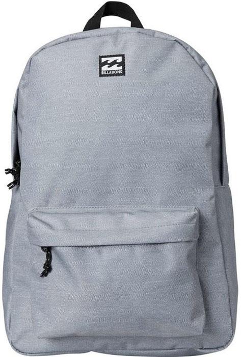Рюкзак Billabong All Day Pack, цвет: серый, 20 л рюкзак городской billabong all day pack цвет черный серый