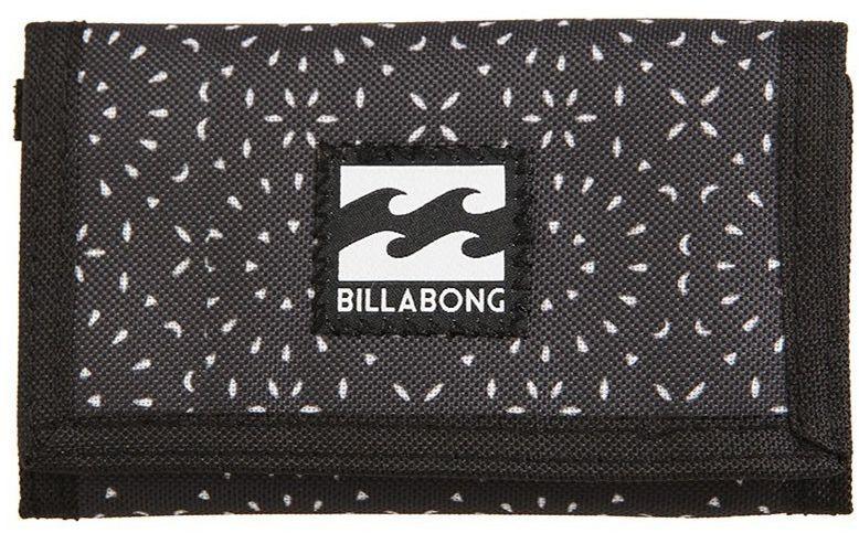 Кошелек Billabong Atom Wallet, цвет: черный, белый. F5WL01F5WL01Компактный кошелек Billabong Atom, который вмещает в себя все необходимое.