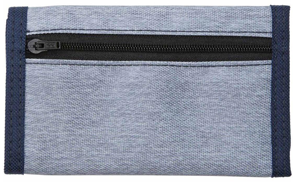 Кошелек Billabong Atom Wallet, цвет: темно-синий, серый. F5WL01F5WL01Компактный кошелек Billabong Atom, который вмещает в себя все необходимое.