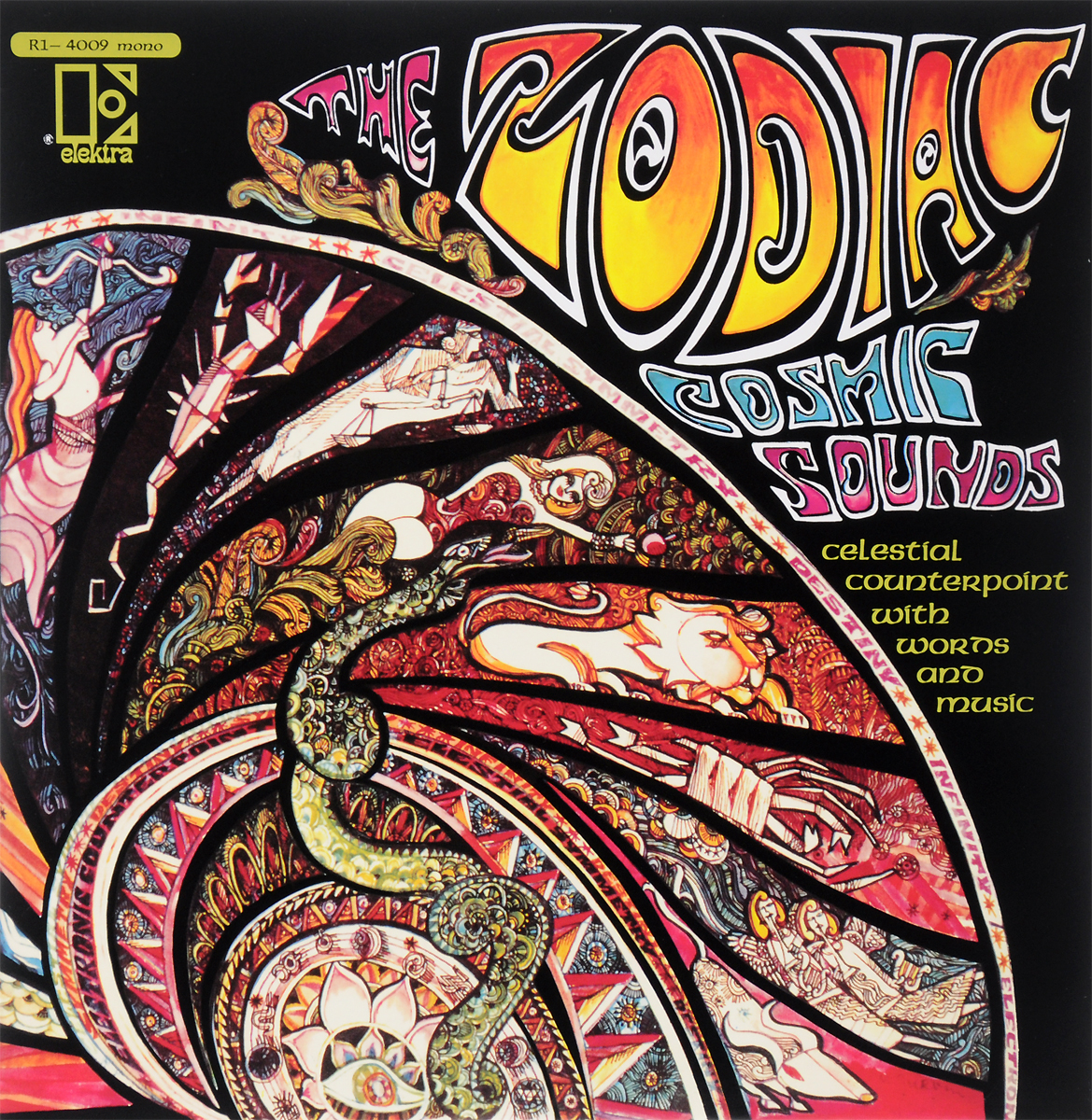 Paul Beaver The Zodiac. Cosmic Sounds. Limited Colour Edition (LP) roxy music roxy music the studio albums limited edition 8 lp