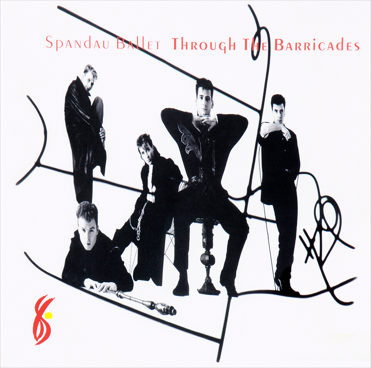 Spandau Ballet Spandau Ballet. Through The Barricades (LP) roxy music roxy music the studio albums limited edition 8 lp
