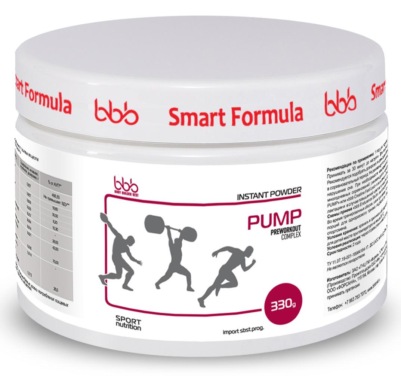 Предтренировочный комплекс bbb Pump, со вкусом апельсина, 330 г105290Предтренировочный комплекс bbb Pump разработан на базе мировых научных исследований 2015-2016 годов и предназначен как для профессиональных спортсменов, так и для новичков- Способствует увеличению пиковой мощности при интенсивном тренинге, значительно увеличивает взрывную силу. - Позволяет увеличить количество повторений и сокращает время восстановления между подходами/повторами при применении у пауэрлифтеров, тяжелоатлетов и спринтеров.Представители циклических видов спорта (бегуны на средние дистанции, велосипедисты) могут применятьbbb Pump в жестком интервальном тренинге и сочетать его с bbb PRO Training, если длительность тренировки составляет более 30 минут.Активность компонентов. Цитруллин позволяет повысить анаэробную мощность и улучшить результат в каждом повторении.Незаменимая аминокислота L-лейцин, являясь катализатором синтеза белка, способствует ускоренному восстановлению.Липоевая кислота - мощнейший антиоксидант, предотвращает образование свободных радикалов, концентрация которых в крови резко возрастает при насыщении крови азотом. Декстроза - необходимый поставщик энергии быстрого доступа, протектор анаболических процессов. Продукт идеален в предсоревновательный период, так как позволяет легко контролировать вес в связи с отсутствием в составе креатина.Перед применением обязательна консультация специалиста.Рекомендации по применению: в общих случаях рекомендуется принимать по 1 порции порошка (6,6 г = 1 мерная ложка) за 30-45 минут до тренировки. Порошок разводить в 150 мл воды/сока. Опытные атлеты могут увеличивать порцию до 5 раз (по согласованию со специалистом).При первом приеме следует строго соблюдать дозировку, настраивая организм на применение bbb Pump. Эффективное время приема лучше подбирать индивидуально, учитывая особенности каждого атлета.Схемы приема.1. При коротком интенсивном тренинге с большими паузами для восстановления: за 45-60 минут до тренинга принять 1 порцию bb