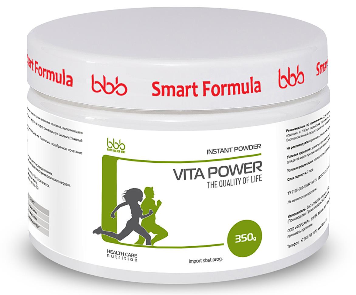 """Витаминно-минеральный комплекс bbb """"Vita Power + L-carnitine"""", черная смородина, 350 г, bbb (BODY BUILDER BEST)"""