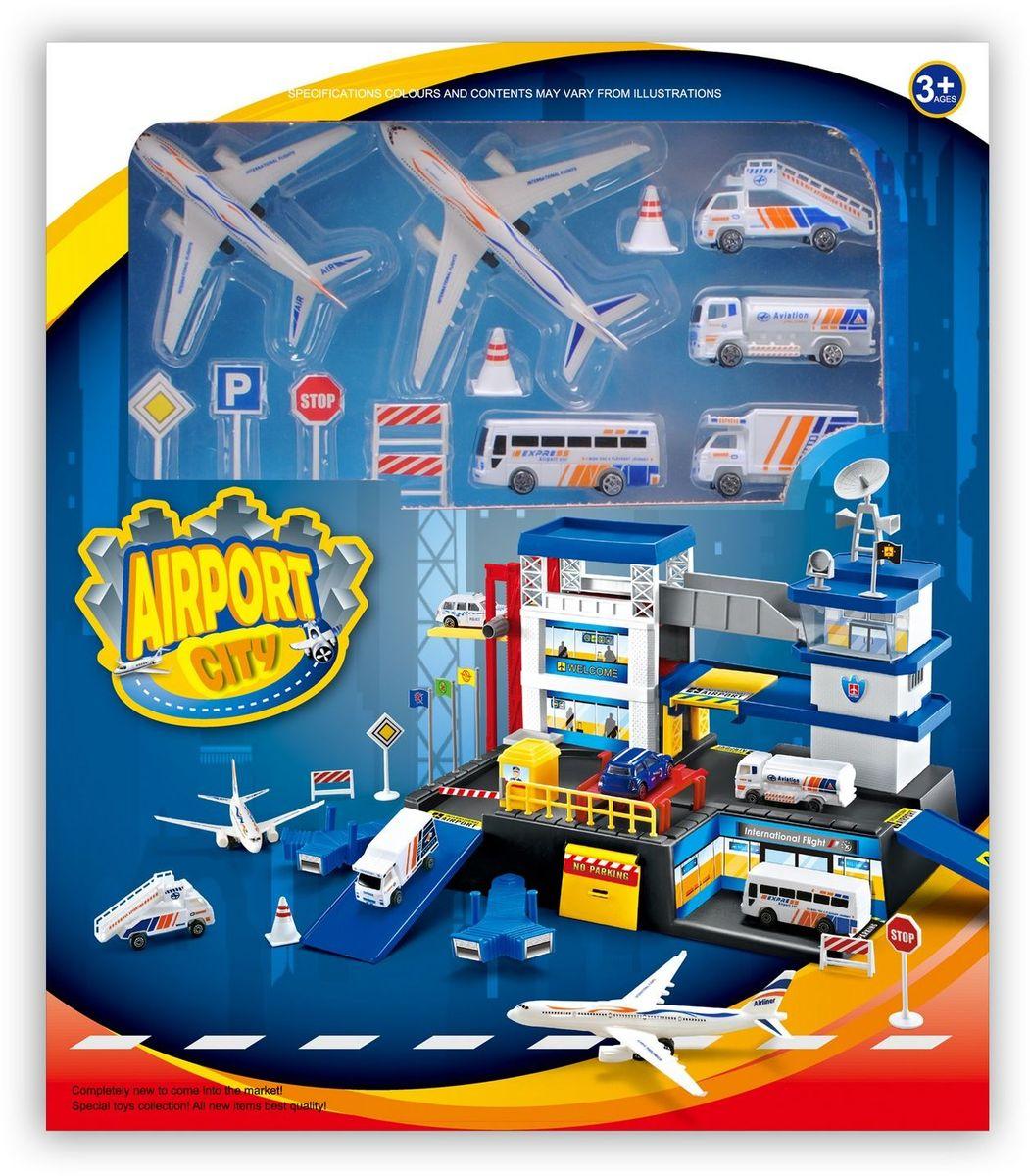 Dave Toy Игровой набор Аэропорт - Транспорт, машинки