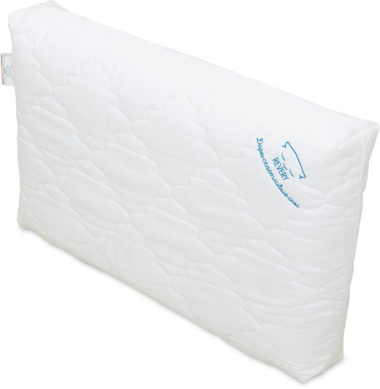 Подушка анатомическая Revery Gelios Support, 60 х 40 смPO.GELSUPУпругая подушка Revery Gelios Support, анатомические вставки которой не только обеспечивают правильную поддержку головы и шеи, позволяя мышцам полноценно расслабиться во время сна, но и позволяют лучше сохранять форму. По мнению многих специалистов, упругая подушка является оптимальным вариантом для тех, кто хочет иметь здоровый позвоночник. Чехол подушки выполнен из полиэстера. Gelios Support идеально подходит для тех, кто любит подушки классической формы, но хочет обеспечить себе выраженную поддержку шеи.