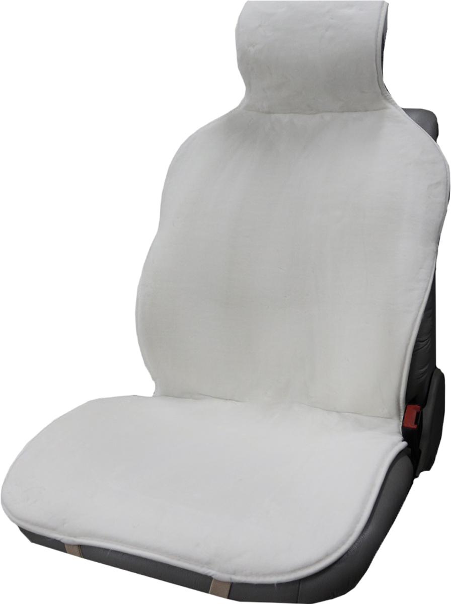 Накидка на сиденье Trokot, универсальная, цвет: белый, 142 х 57 х 2,5 смTR1523-50Накидка на сиденье Trokot изготовлена из искусственного меха, станет прекрасным дополнением к интерьеру вашей машины. Меховые накидки являются прекрасным теплоизолятором, так как структура шерсти обеспечивает наличие в чехле плотного слоя воздуха, и поэтому накидки заботливо и эффективно защищают тело человека как от холода, так и от жары.В знойную погоду ваша одежда не будет прилипать к кожаным сидениям автомобиля, а в мороз вы будете чувствовать себя комфортно и вам не надо будет ждать пока сидение нагреется, вы сразу же погрузитесь в атмосферу тепла и уюта.Следовательно, меховые накидки - это универсальная, всесезонная одежда для вашего автомобиля. (Универсальный размер, подходит ко всем сиденьям).
