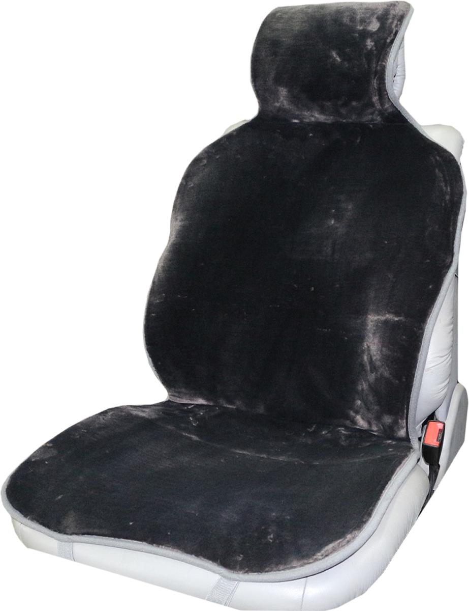 Накидка на сиденье Trokot, универсальная, цвет: серый, 142 х 57 х 2,5 смTR1523-53Накидка на сиденье из искусственного меха, станет прекрасным дополнением к интерьеру вашей машины. Меховые накидки являются прекрасным теплоизолятором, так как структура шерсти обеспечивает наличие в чехле плотного слоя воздуха, и поэтому накидки заботливо и эффективно защищают тело человека как от холода, так и от жары. В знойную погоду ваша одежда не будет прилипать к кожаным сидениям автомобиля, а в мороз вы будете чувствовать себя комфортно и вам не надо будет ждать пока сидение нагреется, вы сразу же погрузитесь в атмосферу тепла и уюта. А, согласитесь, в мороз ожидание, пусть даже в течение нескольких минут, пока сидение нагреется может надолго испортить настроение. В жару же салон вашего автомобиля, украшенного накидками никогда не станет раскаленным. Следовательно, меховые накидки - это универсальная, всесезонная одежда для вашего автомобиля. (Универсальный размер, подходит ко всем сиденьям)