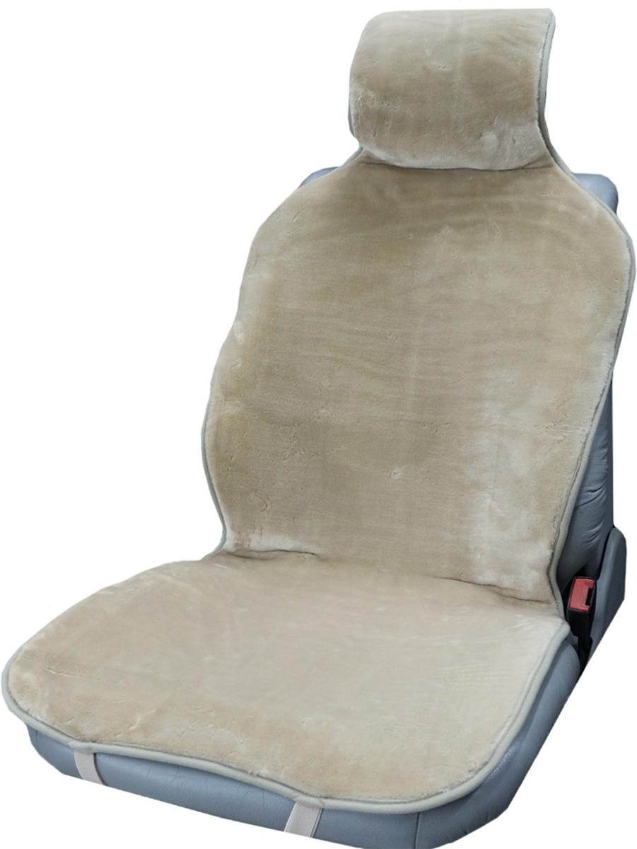 Накидка на сиденье Trokot, универсальная, цвет: темно-бежевый, 142 х 57 х 2,5 смTR1523-54Накидка на сиденье Trokot изготовлена из искусственного меха, станет прекрасным дополнением к интерьеру вашей машины. Меховые накидки являются прекрасным теплоизолятором, так как структура шерсти обеспечивает наличие в чехле плотного слоя воздуха, и поэтому накидки заботливо и эффективно защищают тело человека как от холода, так и от жары.В знойную погоду ваша одежда не будет прилипать к кожаным сидениям автомобиля, а в мороз вы будете чувствовать себя комфортно и вам не надо будет ждать пока сидение нагреется, вы сразу же погрузитесь в атмосферу тепла и уюта.Следовательно, меховые накидки - это универсальная, всесезонная одежда для вашего автомобиля. (Универсальный размер, подходит ко всем сиденьям).