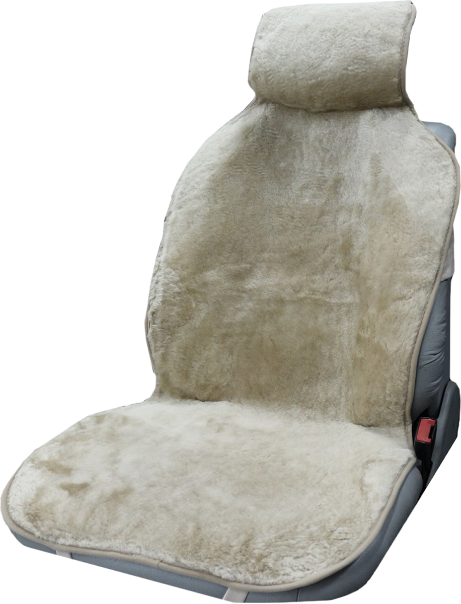 Накидка на сиденье Trokot, универсальная, цвет: темно-бежевый, 142 х 57 х 2,5 смTR1524-54Меховая накидка на сиденье из натуральной овчины (Класс А - цельная шкура), станет прекрасным дополнением к интерьеру вашей машины. Меховые накидки из овечьих шкур являются прекрасным теплоизолятором, так как структура шерсти обеспечивает наличие в накидке плотного слоя воздуха, и поэтому накидки из овечьих шкур заботливо и эффективно защищают тело человека как от холода, так и от жары. В знойную погоду ваша одежда не будет прилипать к кожаным сидениям автомобиля, а в мороз вы будете чувствовать себя комфортно и вам не надо будет ждать пока сидение нагреется, вы сразу же погрузитесь в атмосферу тепла и уюта. А, согласитесь, в мороз ожидание, пусть даже в течение нескольких минут, пока сидение нагреется может надолго испортить настроение. В жару же салон вашего автомобиля, украшенного накидками из натурального меха, никогда не станет раскаленным. Следовательно, меховые накидки - это универсальная, всесезонная одежда для вашего автомобиля или офисного кресла. (Универсальный размер, подходит ко всем сиденьям)