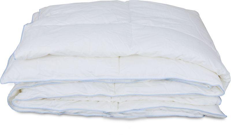 Одеяло Revery Darling, наполнитель: пух, цвет: белый, 220 см х 200 смOD.200*220.DARLВсесезонное воздушное одеяло. Легкий пуховый наполнитель обладает отличными теплоизоляционными свойствами. Под таким одеялом никогда не будет жарко, потому что этот материал не препятствует циркуляции воздуха, позволяет коже дышать и поглощает излишнюю влагу. Чехол выполнен из стопроцентного хлопка и очень приятен на ощупь.