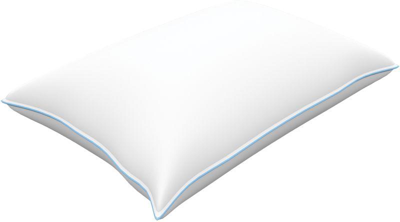 Подушка Revery Darling, наполнитель: пух, цвет: белый, 70 см х 70 см