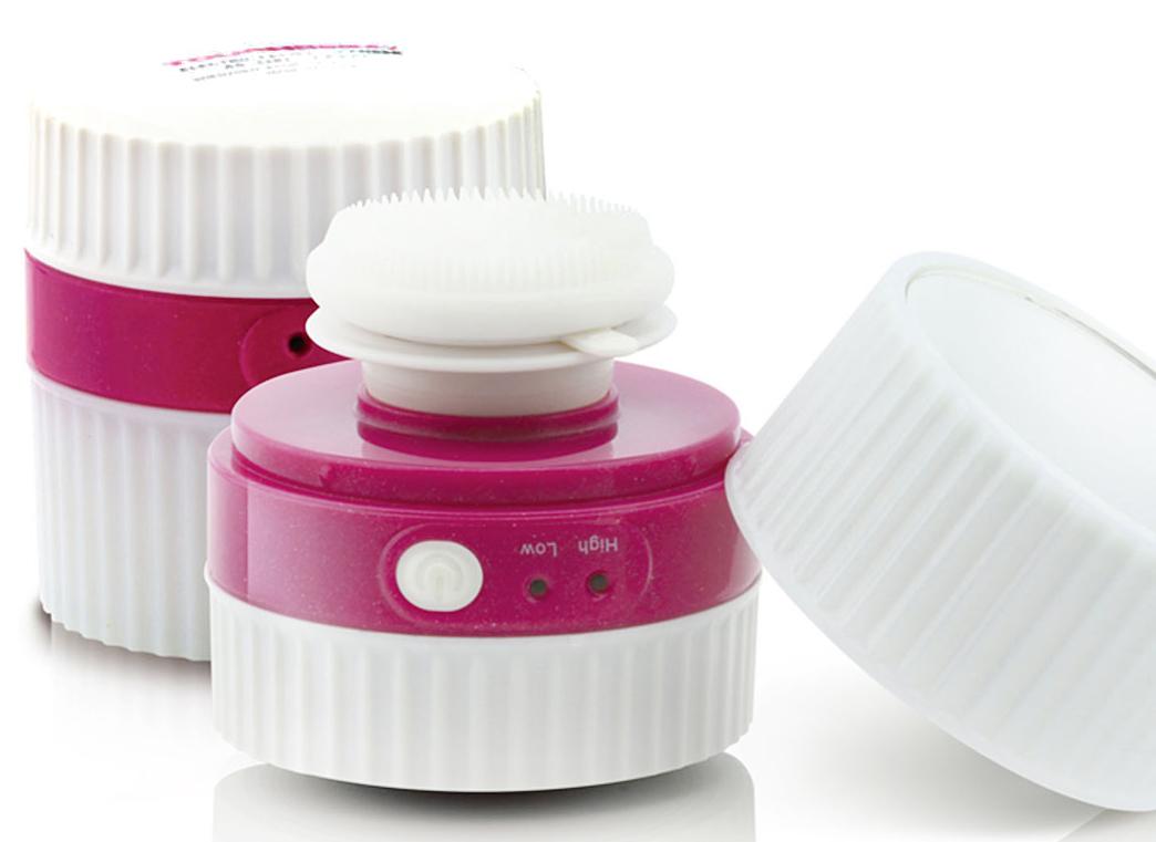 Прибор для очищения кожи Touchbeauty AS-1281AS-1281Touchbeauty AS-1281 - мини-аппарат для умывания, глубокой очистки, снятия макияжа и массажа лица. В комплектемягкая силиконовая насадка. Ультразвуковая вибрация ULTRASONIC: 22 000 колебаний в минуту! Глубокаяочистка в 6 раз быстрее и эффективнее. Компактный размер, удобен для использования. 2 скорости - дляделикатного и более глубокого очищения. Стильный дизайн и удобное зеркальце на крышке. Устройство такжеимеет водонепроницаемый корпус и таймер на 80 секунд.