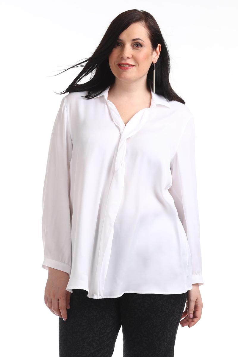 Блузка женская Averi, цвет: белый. 1310_006. Размер 64 (68) блузка женская averi цвет оранжевый 1440 размер 64 66