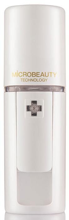 Ультразвуковой увлажнитель для кожи Microbeauty, цвет: белый жемчугMicro-pearl whiteУльтразвуковой увлажнитель для кожи Microbeauty предназначен для глубокого увлажнения кожи, лица, рук и области декольте. Идеально дополняет салонные процедуры.Результаты заметны уже после первого применения.Усиливает яркость макияжа в течение дня.Успокаивает и освежает кожу после загара.Прекрасно увлажняет и питает волосы.По данным исследований университета Providence (США), где проводилось тестирование Microbeauty, после нанесения увлажняющего средства с помощью аппарата на лице уровень содержания влаги в коже через час поднимается на 82,3%, а при нанесении вручную - всего на 67,7%. Через два часа увлажненность кожи уменьшается в первом случае до 74,7%, а во втором - до 49,1%. Ультразвуковой увлажнитель Microbeauty – портативный прибор для косметологов при проведении салонных процедур c использованием гиалуроновой кислоты, пептидов и пр.Применение Microbeauty поверх нанесенных концентратов обеспечивает эффект окклюзии и усиливает омолаживающий и увлажняющий эффект процедуры. Идеально дополняет салонный уход с применением альгинатных, пластифицирующих масок, колагеновых листов.Microbeauty в сочетании с гиалуроновой кислотой обеспечивает эффект максимального насыщения кожи влагой. Молекулы гиалуроновой кислоты мнгновенно притягиват к себе микроскопические частицы влаги и значительно повышают увлажняющий фактор кожи. Характеристики: Материал: пластик, металл. Размер устройства: 3,2 х 3,1 х 9,9 см. Размер упаковки: 18 см х 13 см х 5 см.