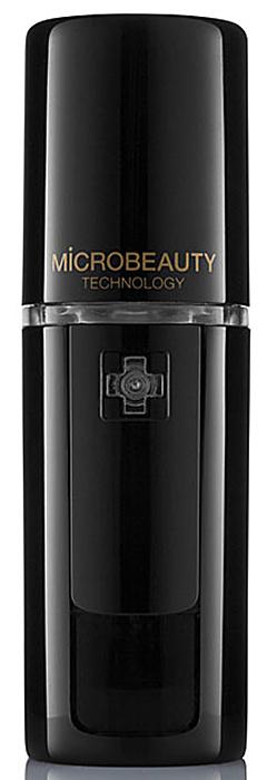 Ультразвуковой увлажнитель для кожи Microbeauty, цвет: черныйMicro-2Ультразвуковой увлажнитель для кожи Microbeauty предназначен для глубокого увлажнения кожи, лица, рук и области декольте. Идеально дополняет салонные процедуры.Результаты заметны уже после первого применения.Усиливает яркость макияжа в течение дня.Успокаивает и освежает кожу после загара.Прекрасно увлажняет и питает волосы.По данным исследований университета Providence (США), где проводилось тестирование Microbeauty, после нанесения увлажняющего средства с помощью аппарата на лице уровень содержания влаги в коже через час поднимается на 82,3%, а при нанесении вручную - всего на 67,7%. Через два часа увлажненность кожи уменьшается в первом случае до 74,7%, а во втором - до 49,1%. Ультразвуковой увлажнитель Microbeauty – портативный прибор для косметологов при проведении салонных процедур c использованием гиалуроновой кислоты, пептидов и пр.Применение Microbeauty поверх нанесенных концентратов обеспечивает эффект окклюзии и усиливает омолаживающий и увлажняющий эффект процедуры. Идеально дополняет салонный уход с применением альгинатных, пластифицирующих масок, колагеновых листов.Microbeauty в сочетании с гиалуроновой кислотой обеспечивает эффект максимального насыщения кожи влагой. Молекулы гиалуроновой кислоты мнгновенно притягиват к себе микроскопические частицы влаги и значительно повышают увлажняющий фактор кожи. Характеристики: Материал: пластик, металл. Размер устройства: 3,2 х 3,1 х 9,9 см. Размер упаковки: 18 см х 13 см х 5 см.