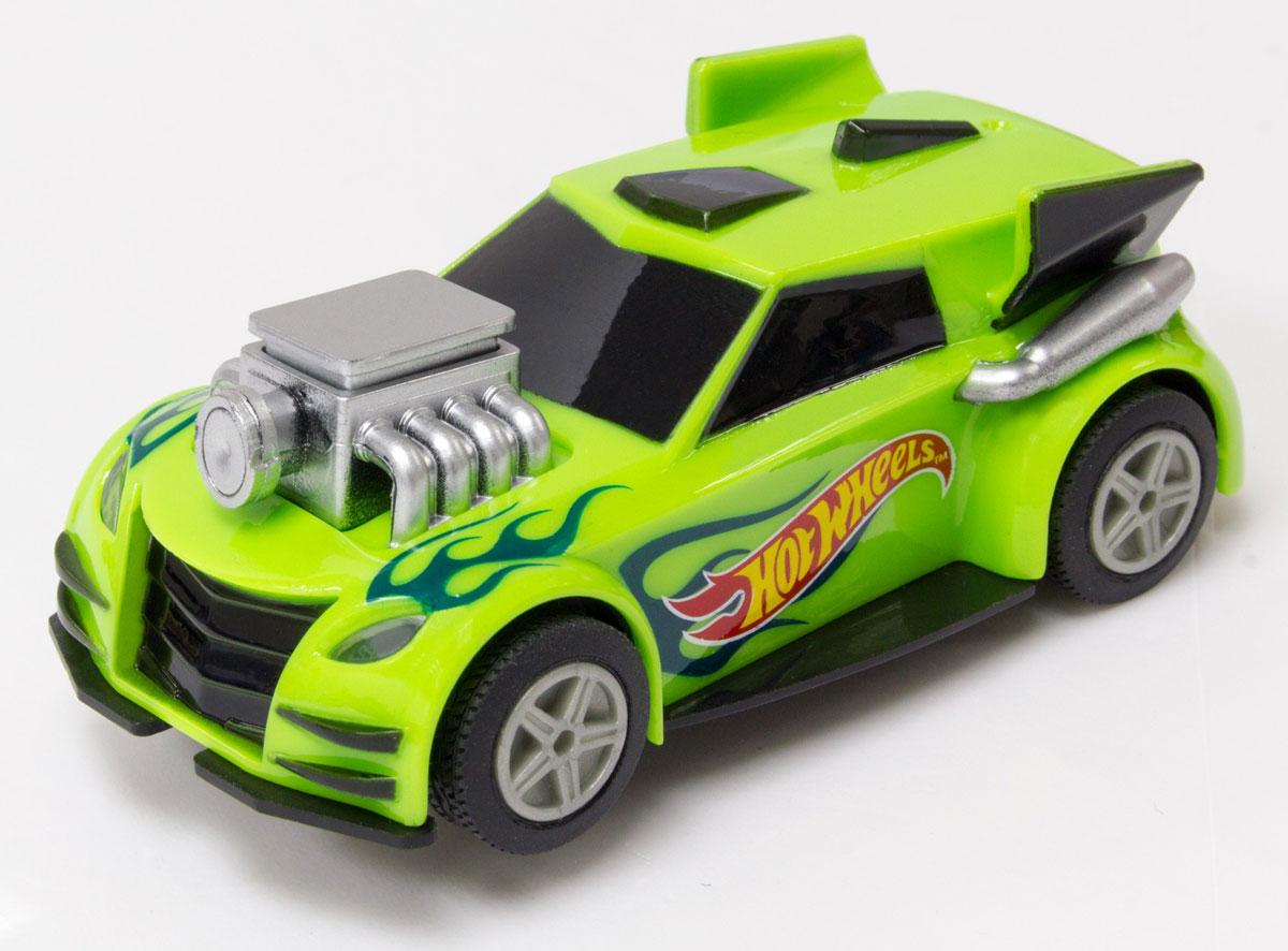 KidzTech Машинка Hot Wheels цвет зеленый масштаб 1:43 kidztech kidztech радиоуправляемая машина nissan gtr красная