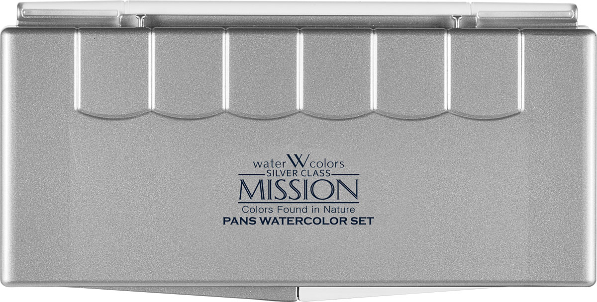Mijello Набор акварели Mission Silver Pen 12 цветов MPW-5012