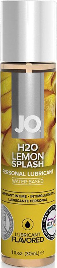 System JO Ароматизированный любрикант JO Flavored Lemon Splash, 30 мл - Товары для гигиены