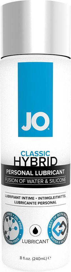 System JO Лубрикант на водной основе Hybrid Lubricant, 240 мл о гели и смазки для использования с игрушками system jo