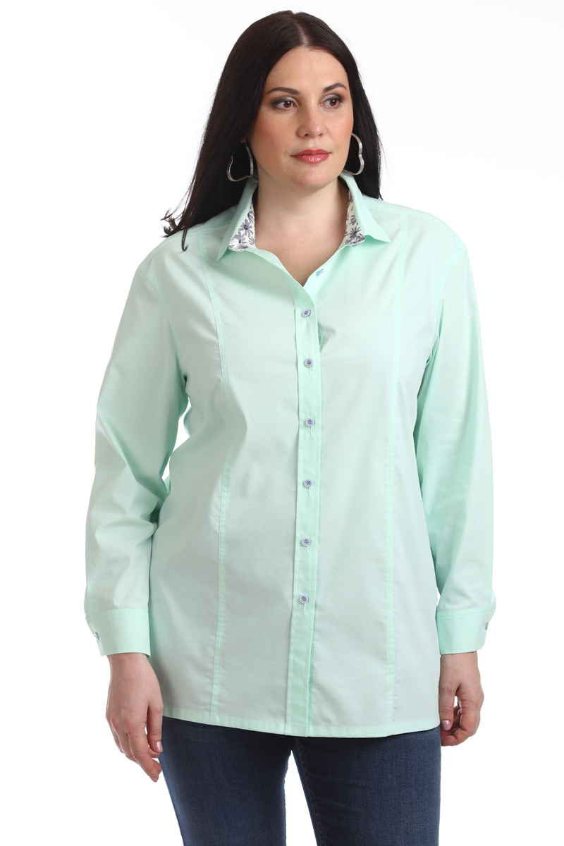 Блузка женская Averi, цвет: светло-салатовый. 1319_015. Размер 60 (64) блузка женская averi цвет голубой 1440 размер 50 52