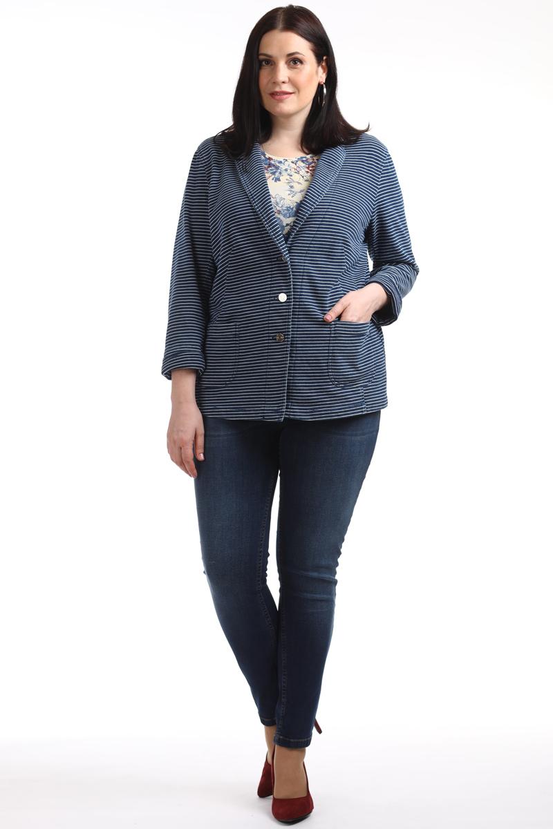 Джинсы женские Averi, цвет: синий. 1301_032. Размер 62 (66)1301_032Ни одна современная женщина не обходится сегодня без джинсов. Эта удобная, стильная и практичная модель. Сзади два накладных кармана, спереди два больших внутренних и один маленький. Застежка на молнию и пуговицу, шлевки для ремня, пояс по спинке с эластичной тесьмой, средняя посадка на талии. Ткань выполнена из высококачественного хлопка с добавлением эластана. Модель декорирована эффектом потертости и отстрочена цветной нитью.