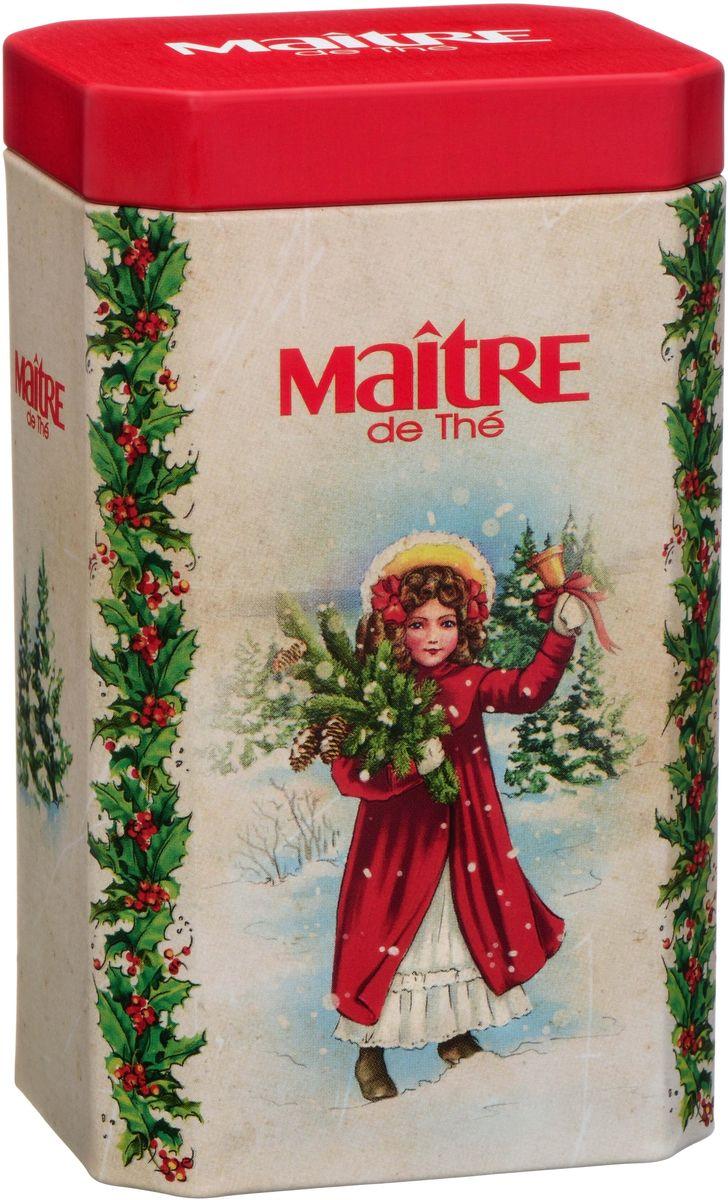 Maitre чай винтажная открытка, 90 г 2005 чай ассам хармутти оптом